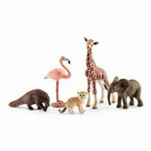Set Figurine Schleich - Animale Salbatice Asortate - Sl42388 imagine