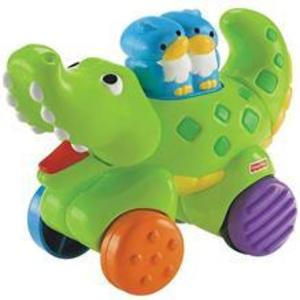Jucarie Fisher Price By Mattel Infant Press And Go Crocodil imagine