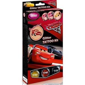 Glitter Tattoo Kit: Cars 3. Tatuaje cu sclipici: Masini 3 imagine