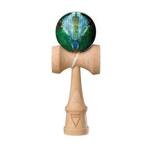 Kendama Krom Rubber Noia (Nuante de verde, albastru, alb) imagine