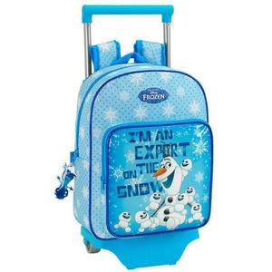 Rucsac-trolley junior OLAF bleu 34x26x11 cm imagine