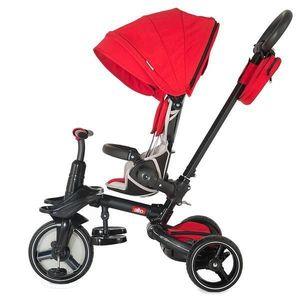 Tricicleta multifunctionala si pliabila Coccolle Alto Red imagine