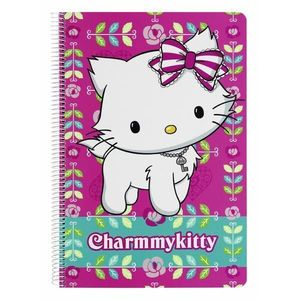 Caiet plastifiat 80 file Charmmy Kitty imagine