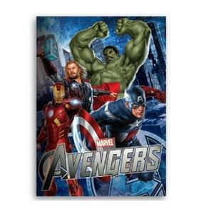 Caiet spirala A4 80 file The Avengers imagine