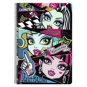 Caiet plastifiat Monster High All imagine