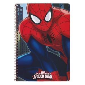 Caiet 80 file A4 Spiderman cu spira imagine