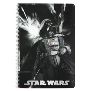 Caiet A4 80 file Star Wars Vader 31x21.5x0 imagine
