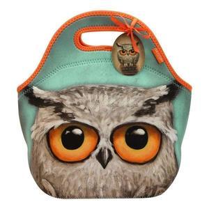 Geanta pentru pranz Santoro - Book Owl, 30 x 28 x 16 cm imagine