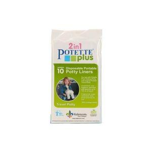 Pungi biodegradabile de unica folosinta pentru olita portabila Potette Plus - 30 buc/set imagine