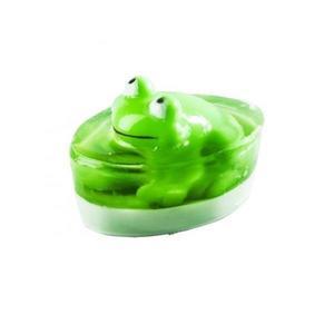 Sapun verde cu jucarie broscuta, Organique, 80 g imagine