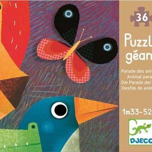 Puzzle gigant Parada animalelor imagine