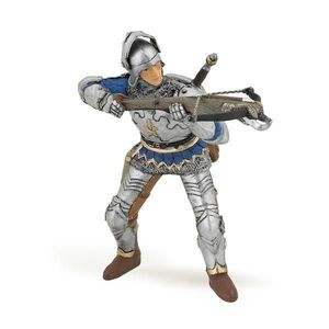 Figurina Papo-Soldat cu arbaleta albastru imagine