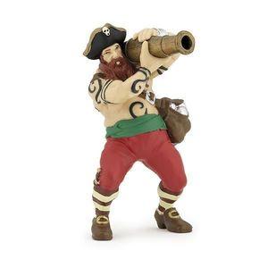 Figurina Papo - Pirat cu tun imagine