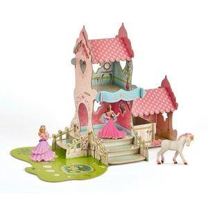 Set Figurine Papo-Castel+3 figurine imagine