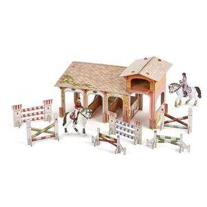 Set figurine Papo - Poney club-boxa carton+4 figurine imagine
