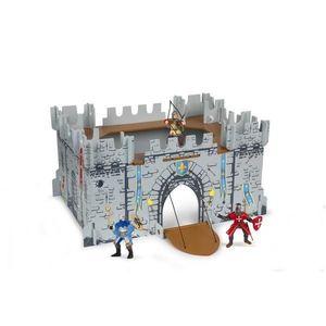 Set Figurine Papo-Castel carton+3 figurine imagine