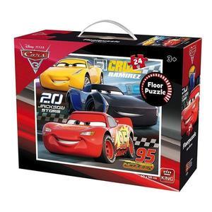 Puzzle de podea 24 piese, Cars 3 imagine