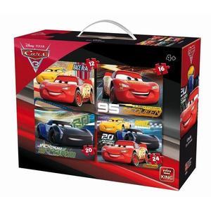 Puzzle 4 in 1, Cars 3 imagine