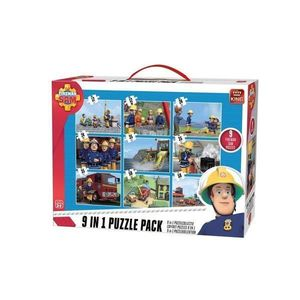 Puzzle 9 in 1, Fireman Sam imagine
