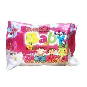 Servetele Umede cu Capac pentru Copii Pink FLM Group, 72buc imagine
