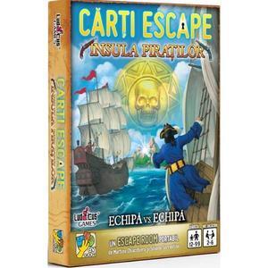 Carti Escape: Insula piratilor imagine