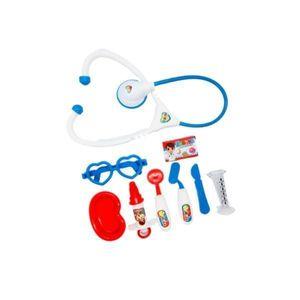 Jucarie de Rol, Trusa de Doctor cu Accesorii Medicale pentru copii, Rosu, +3 ani imagine