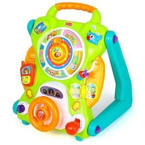Centru activitati 3 in 1 Hola Toys, cu functie de antemergator imagine
