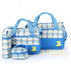 Geanta pentru mamici Mama Bag Emilia Bleu - Bebeking imagine