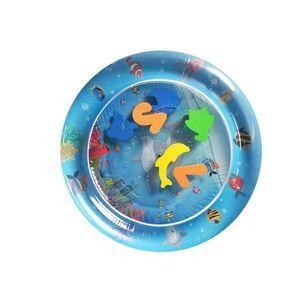 Pernuta cu apa pentru copii Tummy Time Dolphin - Bebeking imagine