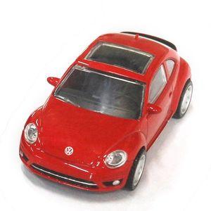 Masinuta Rastar Volkswagen Beetle, Rosu, 1: 43 imagine