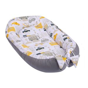 Baby Nest multifunctional din bumbac Cars imagine