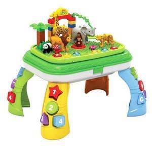 Masuta educativa tip lego Jungle Party - Bebeking imagine