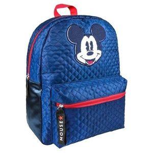 Ghiozdan pentru scoala Mickey Mouse 40 cm atasabil la troler imagine