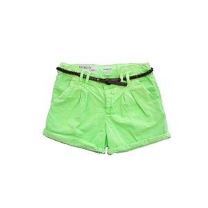 Pantaloni scurti pentru fete Vinrose marimea 164 cm, 13/14 ani , Verde imagine