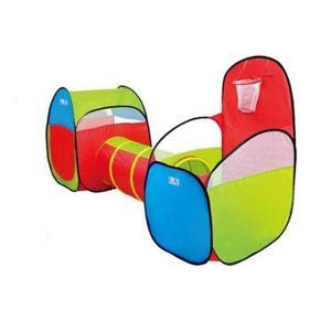 Cort de joaca si tunel pentru copii 3 in 1 Funny - Bebeking imagine