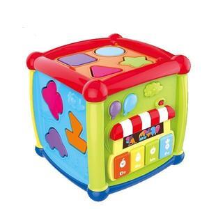 Jucarie educativa Fancy Cube imagine