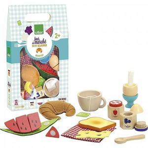 Set mic dejun din lemn Vilac imagine