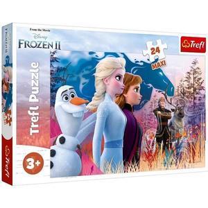 Puzzle 24 maxi trefl frozen 2 calatoria magica imagine