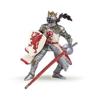 Figurina Papo-Regele Dragon rosu imagine