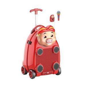 Troler muzical pentru copii Happy Piggy imagine