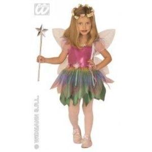 Costum carnaval copii Zana Curcubeu imagine