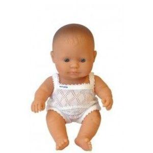 Miniland - Baby european (baiat) Papusa 21cm imagine