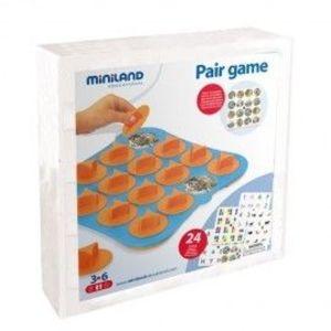 Joc de memorie 24 activitati, cu 4 table de joc - Miniland imagine