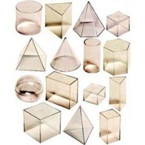 Set didactic de 15 corpuri geometrice - Miniland imagine