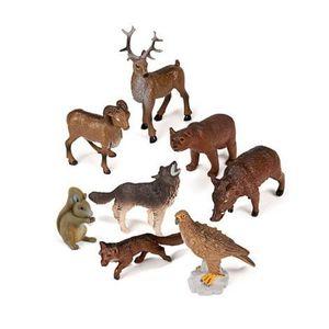 Animale din padure set de 8 figurine - Miniland imagine