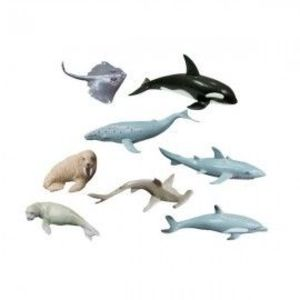 Animale marine set de 8 figurine - Miniland imagine