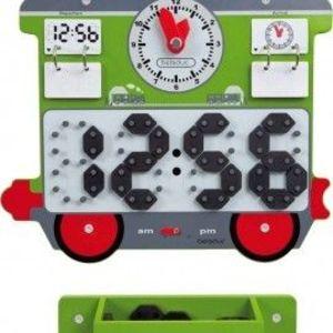 Aplicatie de perete Trenuletul cu ceas imagine