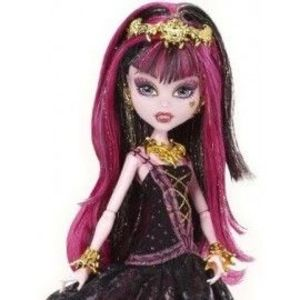 Draculaura - Monster High Seria 13 Wishes party imagine
