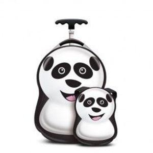 Set Troler si Ghiozdan Cheri the Panda imagine