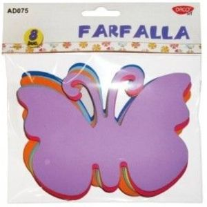Set 8 Fluturi din spuma - Farfalla imagine